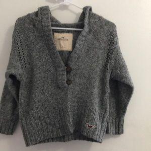 Jackets & Blazers - Holister hooded sweater